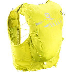 Salomon Adv Skin 12 Backpack Set sulphur spring/citronelle